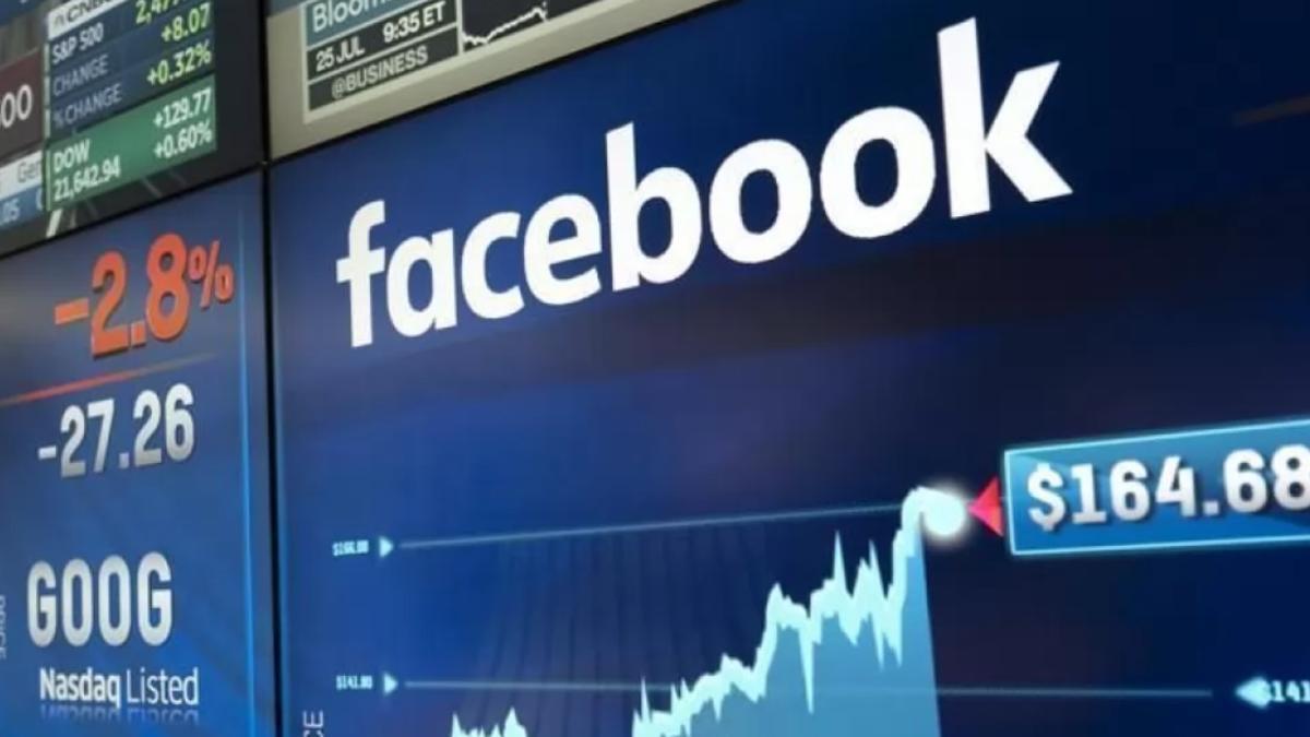 Facebook se desploma en su cotización.