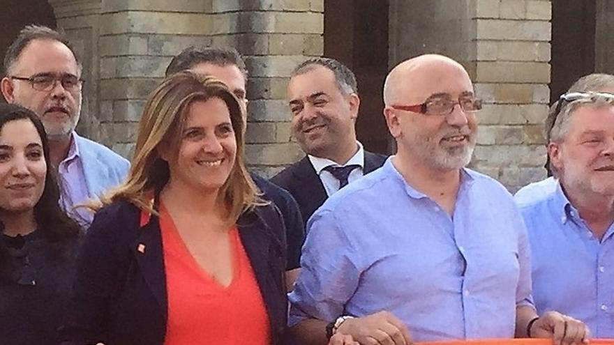 La candidata de C's por Pontevedra, multada por usar de forma irregular plazas de discapacitados