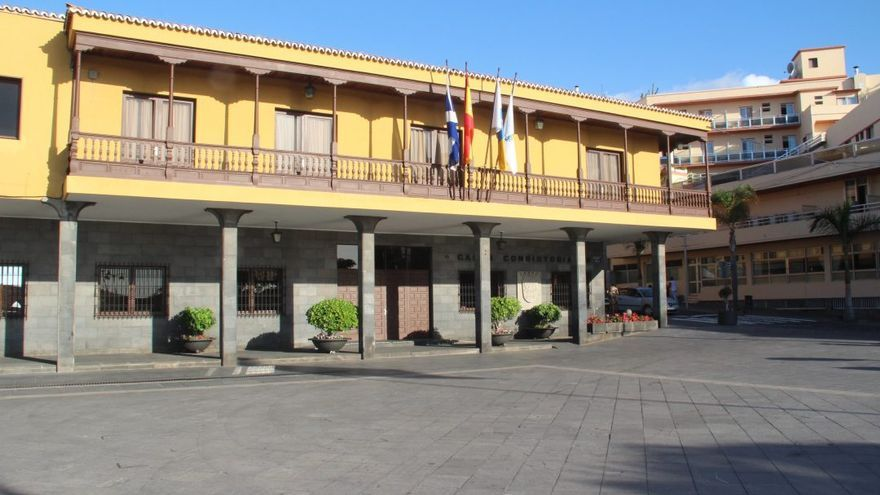 Sede de las Casas Consistoriales de Puerto de la Cruz, en el norte de Tenerife