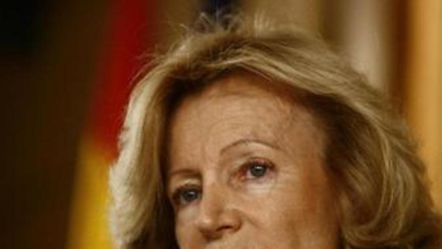 Elena Salgado en el Ministerio de Economía