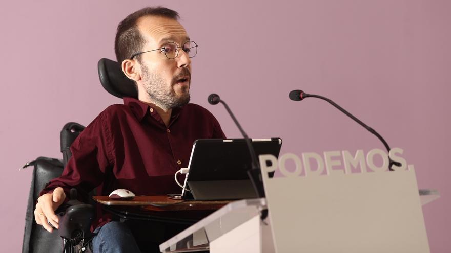 """Pablo Echenique denuncia que la """"descafeinada"""" subida del SMI evidencia la """"debilidad"""" del PSOE"""