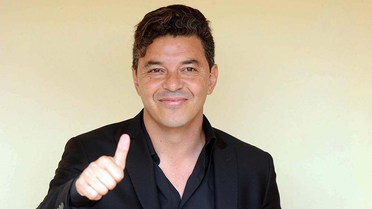 Gallardo no descarta dirigir algún día al seleccionado argentino.