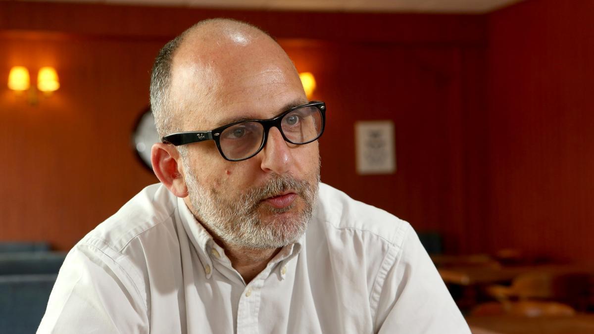 Luis Roca Arencibia. Cineasta, escritor cinematográfico, experto en Comunicación. (ALEJANDRO RAMOS)