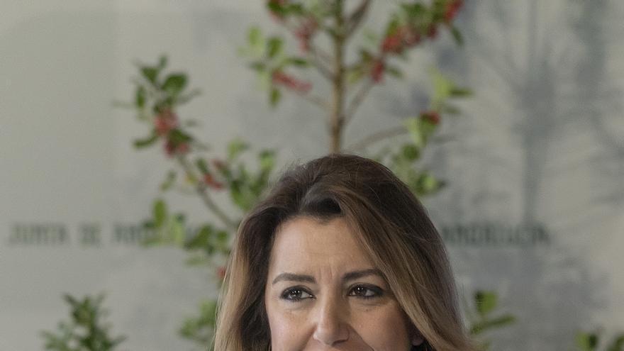 """Susana Díaz critica que Rivera """"oculte"""" que el acuerdo programático entre PP y Cs """"solo es posible con los votos de Vox"""""""