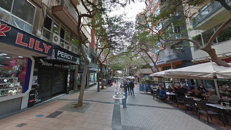 Calle Bethencourt Afonso, en Santa Cruz de Tenerife