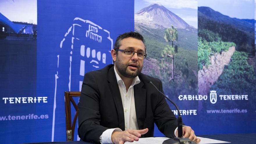 Miguel Ángel Pérez, del PSOE, actual consejero de Política Territorial en Tenerife