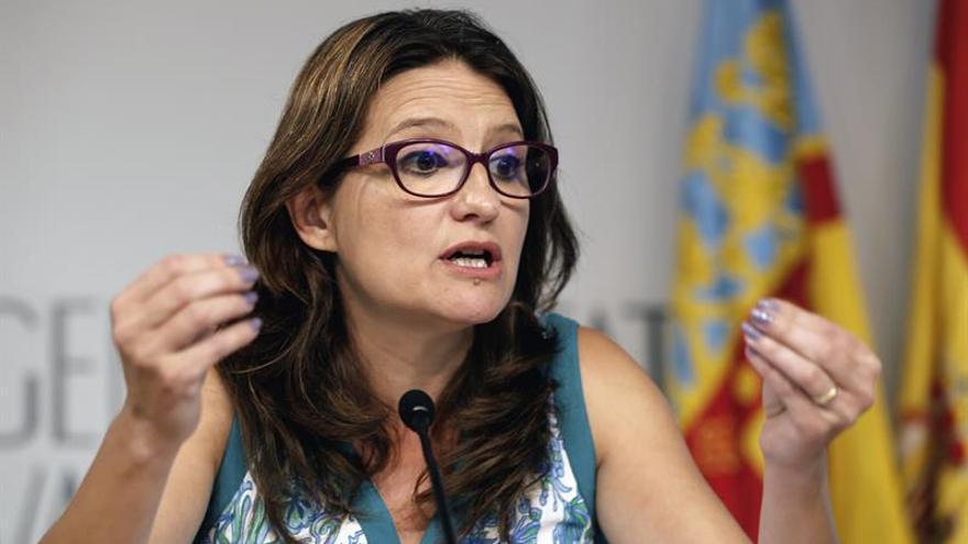 Mónica Oltra: Grau apunta a Rita Barberá y no entiende que no esté imputada