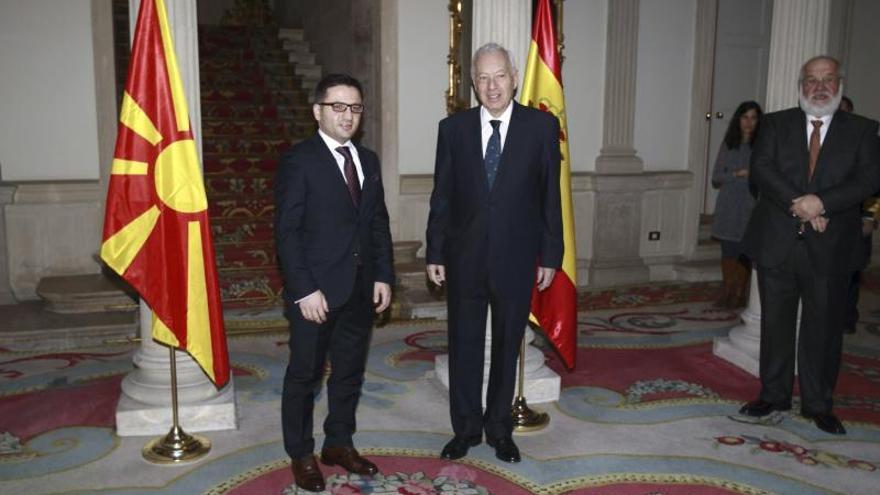 España y Macedonia constatan sus buenas relaciones bilaterales