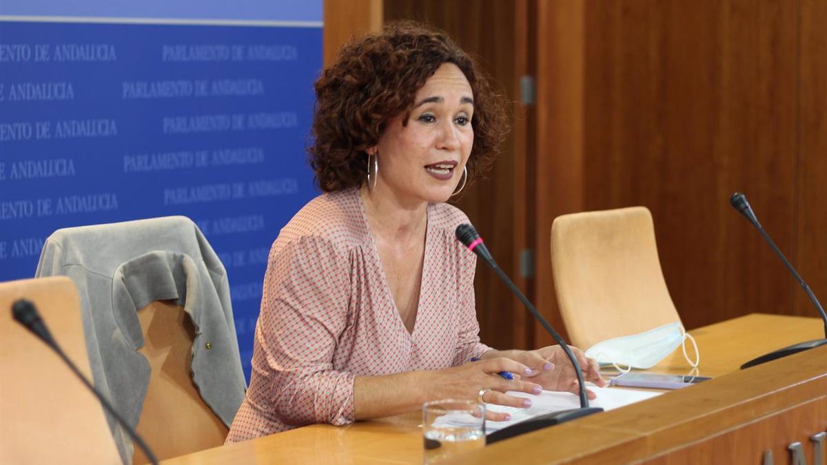 Ana Naranjo, portavoz de Unidas Podemos por Andalucía.