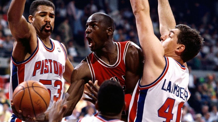 Michael Jordan en 'The last dance'
