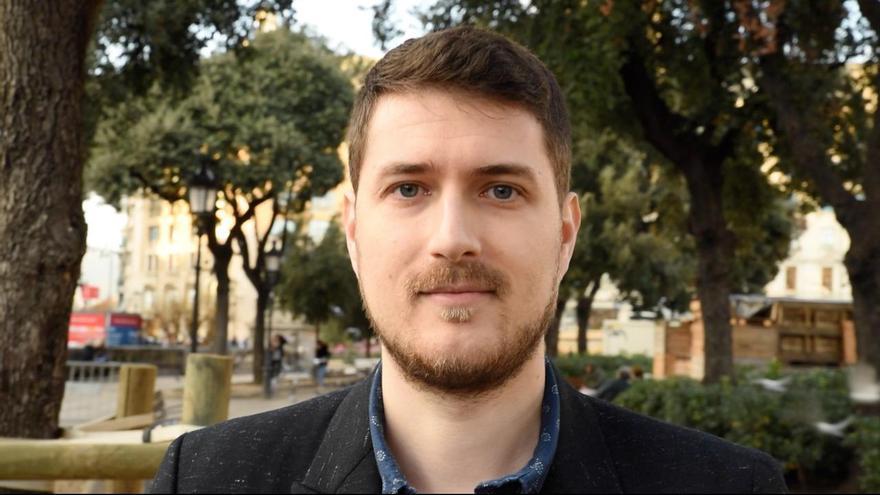 Nacho Pascual, cabeza de lista de PACMA en Barcelona de cara a las elecciones generales del 28 de abril
