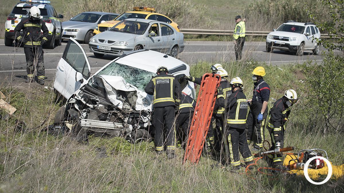 Accidente producido en 2020 en Alcolea