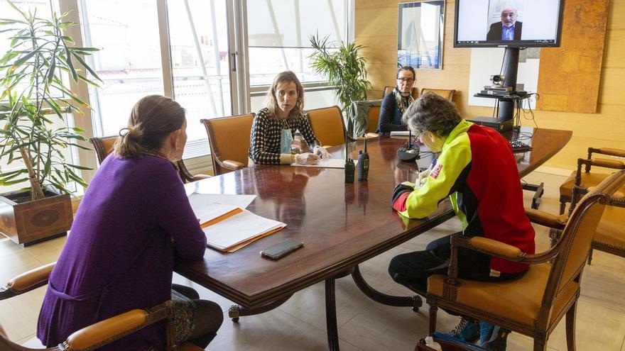 Cantabria pide más medios de protección para los voluntarios que trabajan en la emergencia