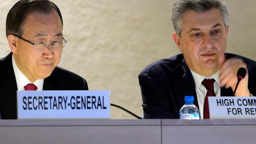 La ONU dice que si la UE actuase como Líbano acogería a 100 millones de refugiados