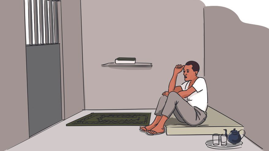 Mohammed, blogero mauritano, fue encarcelado por apostasía © Nikita Gavrilovs/Amnesty International