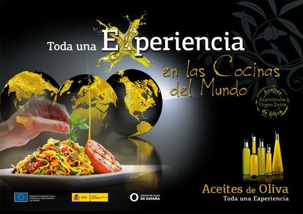 """Campaña """"Aceites de Oliva. Toda una experiencia"""""""