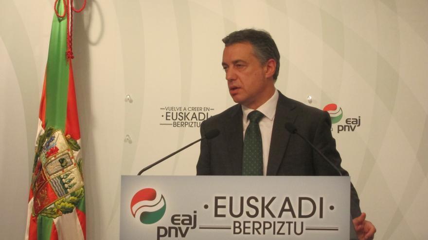 """Urkullu promete que no tiene un plan """"oculto"""" con recortes sociales y de los servicios públicos"""