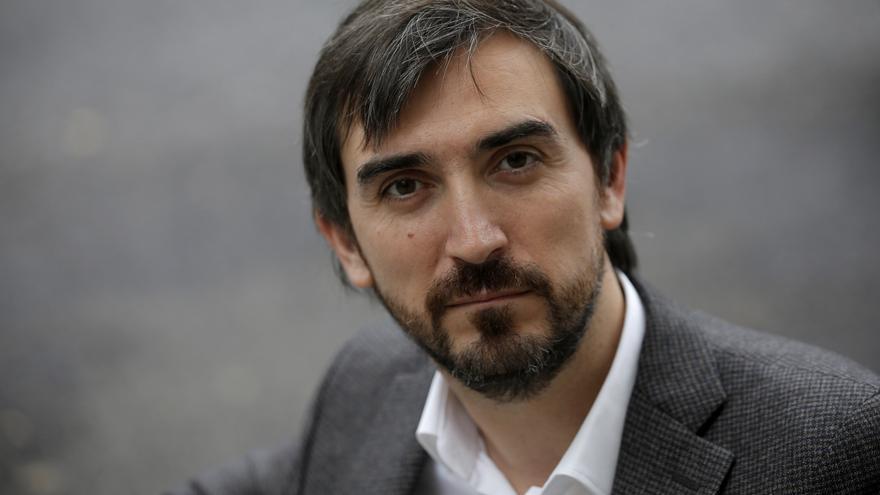 Ignacio Escolar, director de eldiario.es.   Foto: José Luis Roca.