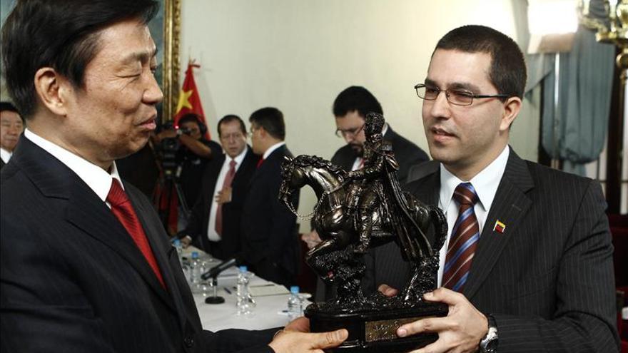"""El vicepresidente chino pide """"eficiencia"""" a Venezuela en proyectos conjuntos"""