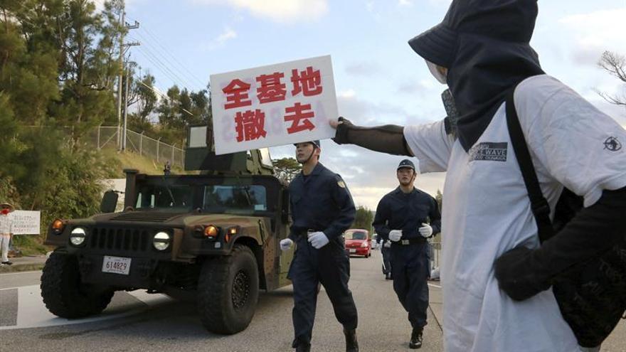 Nueva indemnización a 3.400 residentes de Okinawa por ruidos de base de EEUU