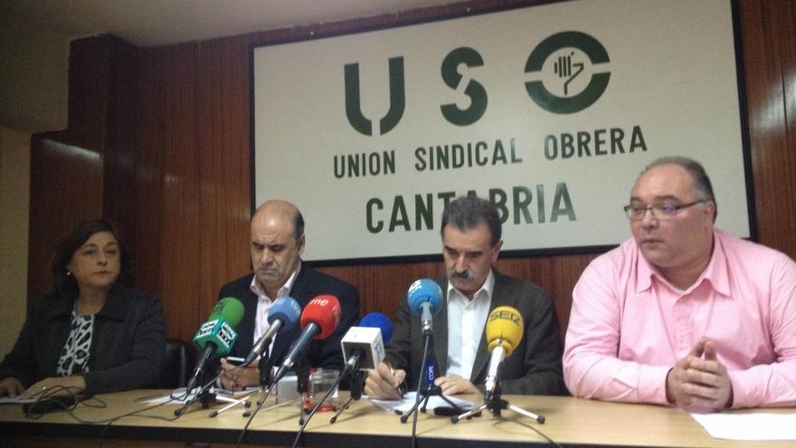 """(AMP) USO denuncia que la recalificación de terrenos de Sniace es """"una especulación"""" que no garantizará el empleo"""