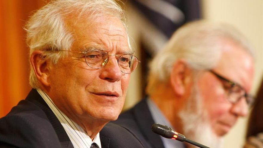 Borrell ve inaceptable comparar la situación en Cataluña con el franquismo