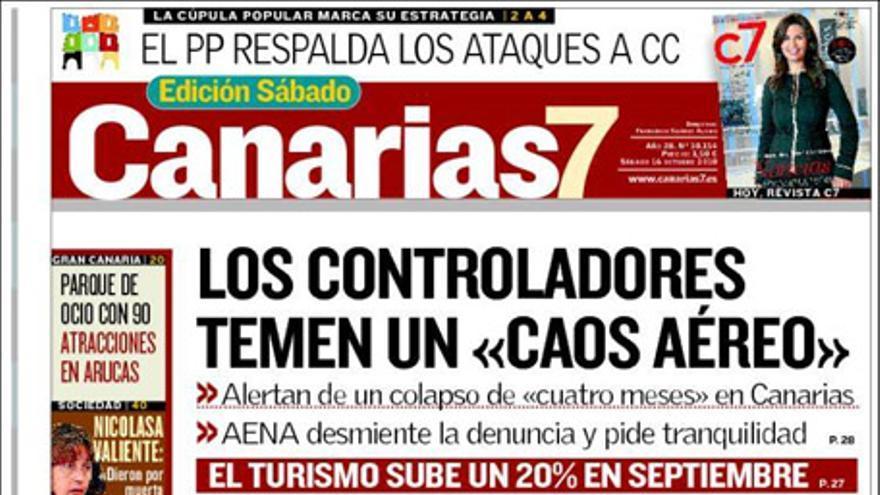 De las portadas del día (16/10/2010) #2