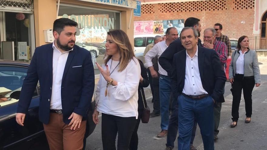 """Díaz llama a trabajar por una """"primavera progresista y de igualdad"""" frente al """"trifachito que gobierna en Andalucía"""""""