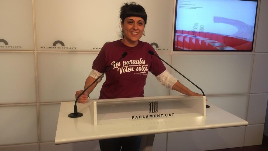 """La CUP se plantearía """"su papel"""" en el Parlament si no hay referéndum"""
