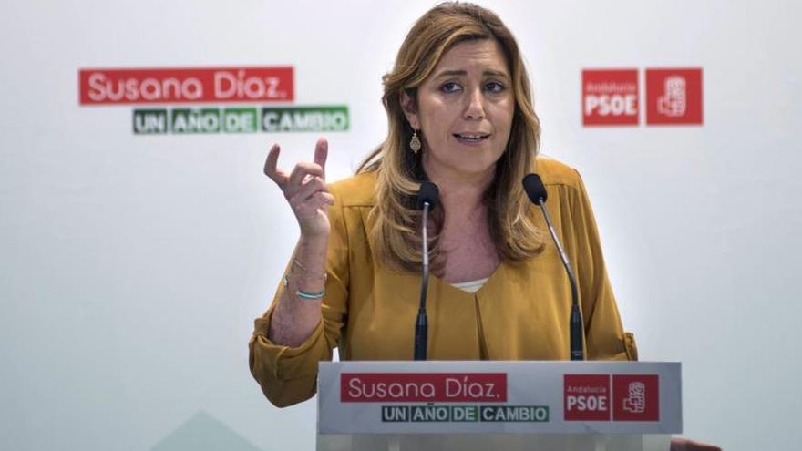 """Susana Díaz: """"Los Goya en Sevilla reconocen potencia de cine andaluz"""""""