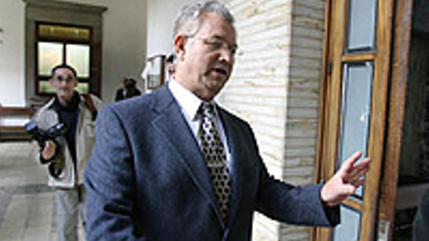 José Antonio Martín, ex presidente de la Audiencia Provincial de Las Palmas.