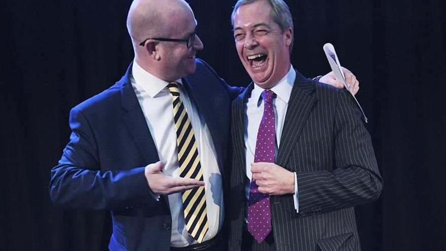 """Paul Nuttall quiere """"unir"""" al UKIP y luchar por un """"auténtico brexit"""""""