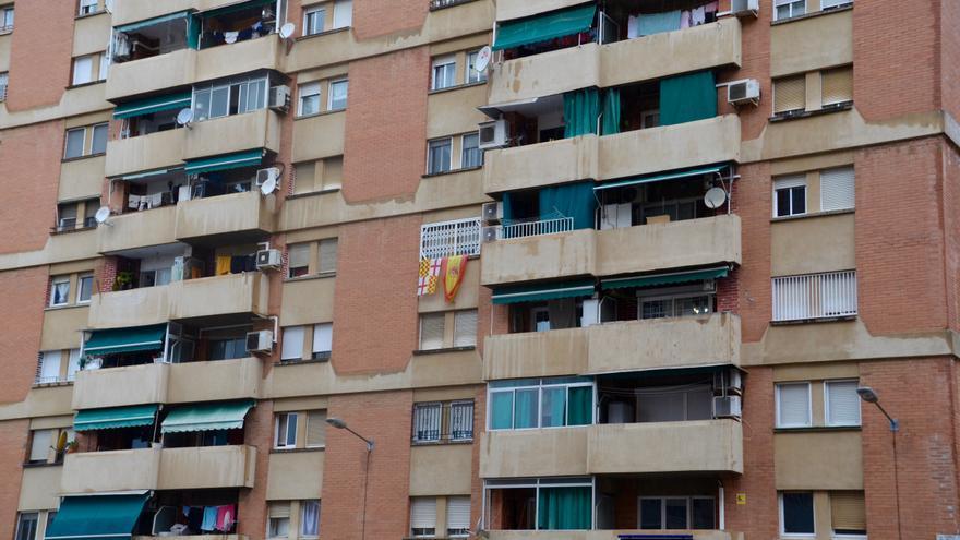 Barrio de Bellvitge, en L'Hospitalet de Llobregat