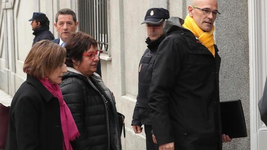 La Fiscalía pide prisión para Turull y los otros 4 tras la huida de Rovira