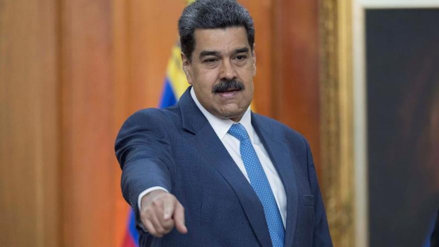 """Maduro dice que lo hablado por Delcy Rodríguez y José Luis Ábalos en Madrid es """"secreto"""""""