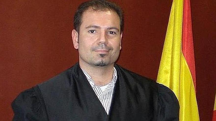José María Magán, en un imagen oficial cuando era juez en Cataluña.