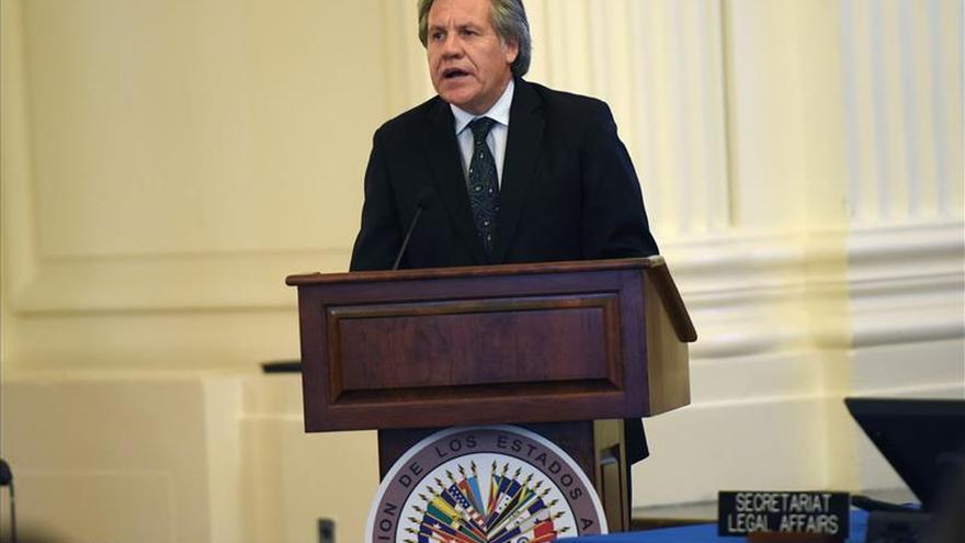 La OEA elige mañana a un nuevo secretario general con Almagro como única opción
