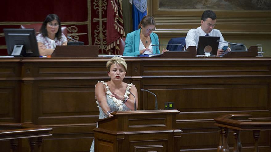 Nayra Alemán, diputada del PSOE.