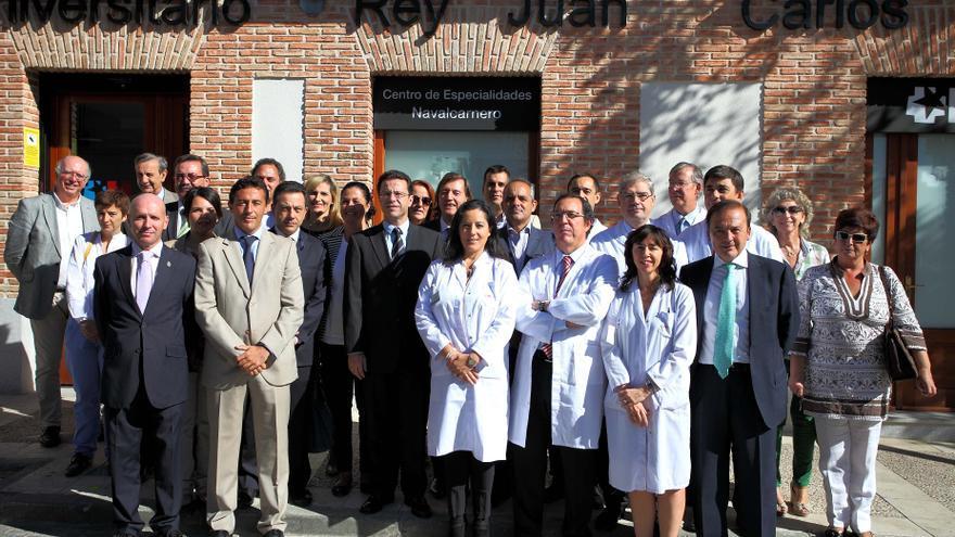 Inauguración del ambulatorio de Navalcarnero que gestiona IDCSalud.