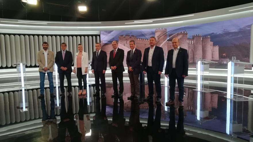 En Aragón TV se ha celebrado el debate a ocho entre los candidatos y la candidata a presidir el Gobierno de Aragón