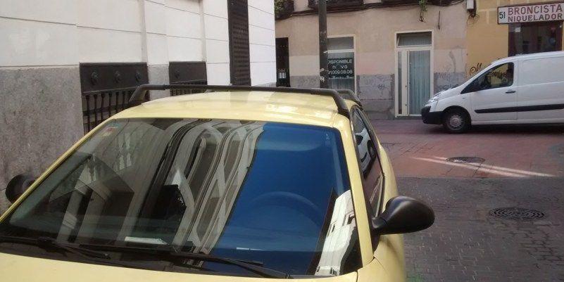 Coches aparcados en Malasaña durante el anterior episodio de contaminación | SOMOS MALASAÑA