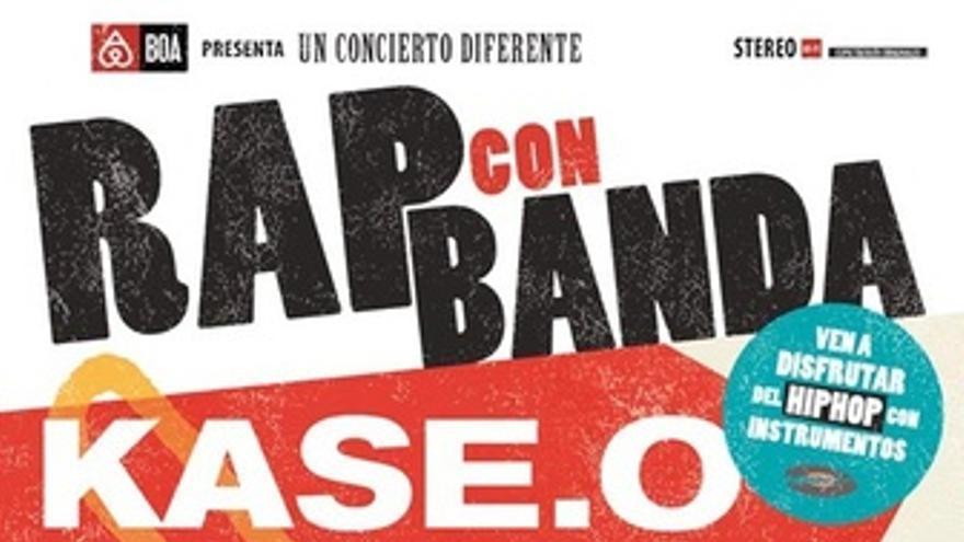 Cartel del concierto Rap con Banda en Madrid