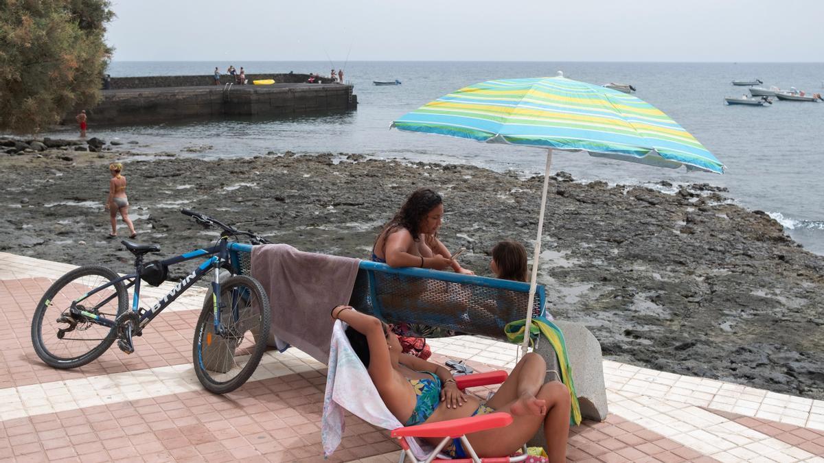 Localidad de Las Playitas, en el municipio de Tuineje en Fuerteventura