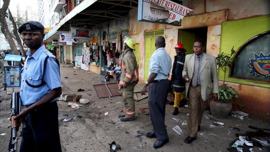 Al menos cuatro muertos al estallar un coche bomba en Nairobi