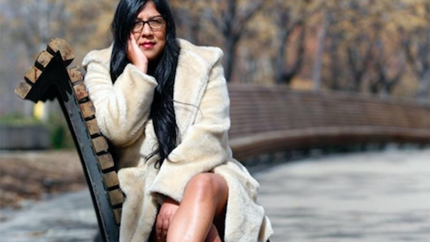 Gabriela Wiener, retratada en Madrid. Foto: Paul Vallejos