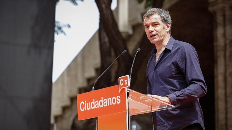 """Cantó (Cs) destaca que """"el único que legisla contra la financiación irregular de los partidos políticos es Ciudadanos"""""""