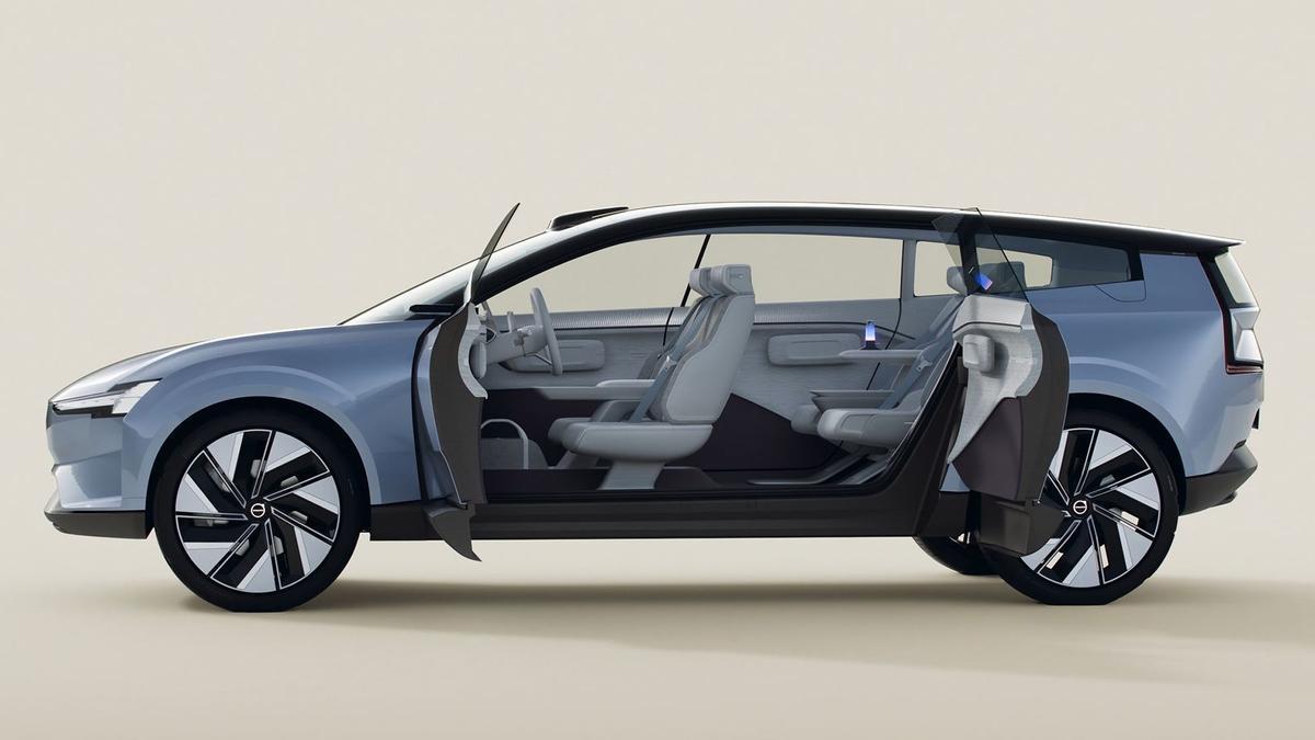 El prototipo Volvo Concept Recharge.