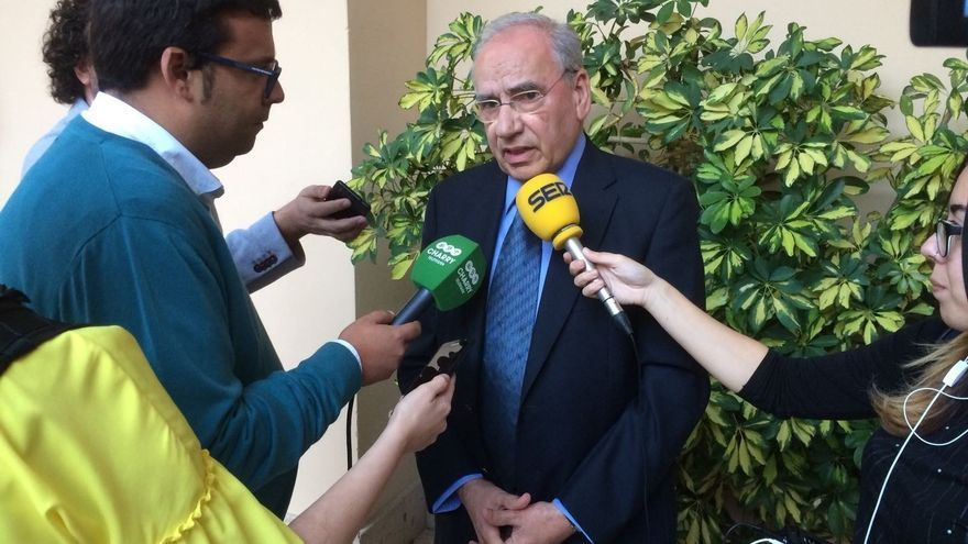 El exvicepresidente socialista, Alfonso Guerra