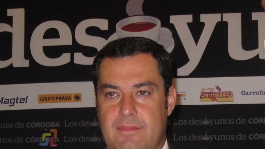 """Moreno advierte de la """"constante inestabilidad"""" en el Gobierno andaluz tras el anuncio de modificar la LOUA"""