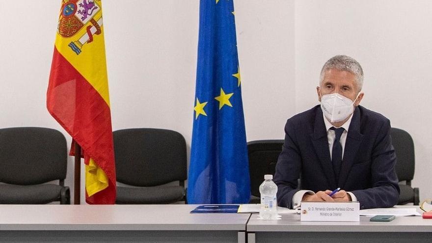 Marlaska en Algeciras haciendo balance del Plan Especial del Campo de Gibraltar